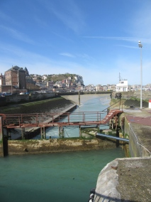 Le Treport harbour