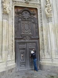 Door to St Wulfran's