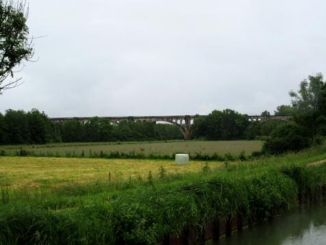 Distant viaduct