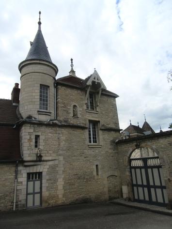 A Fleurie chateau