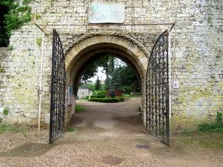 Gray chateau gates