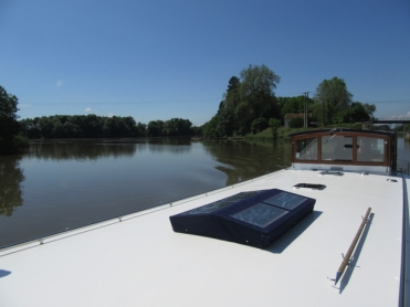 First waters of La Saone