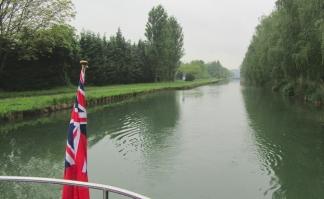 Leaving Bayard - still wet