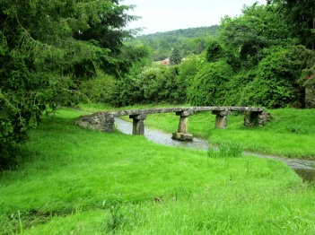 Marigny clapper bridge