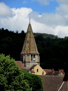 Burgundian roofed church
