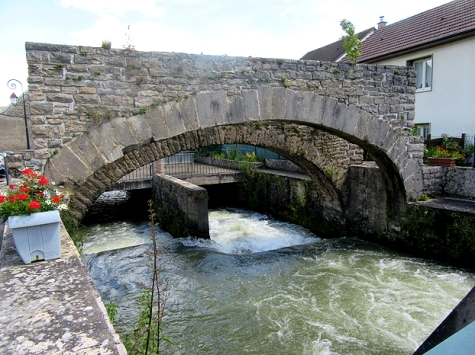 Ouche tributary