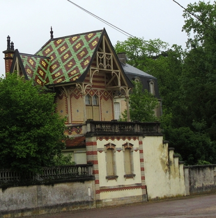 First sight of a Borgogne roof