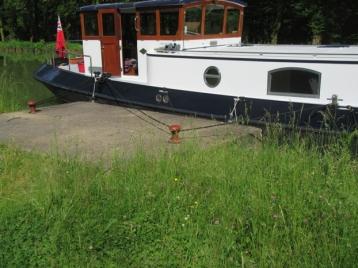 Big boat; small pontoon!