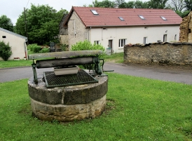 One of the village wells