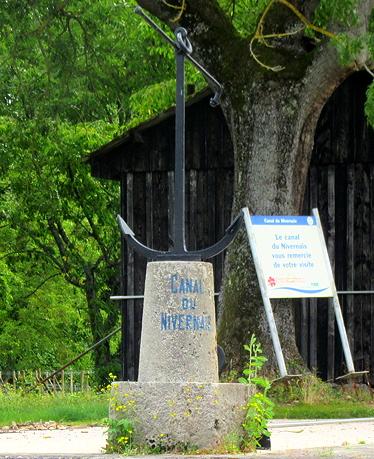 Auxerre, entering Nivernais