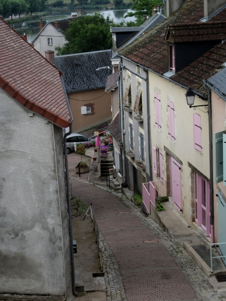 Street from canal to town