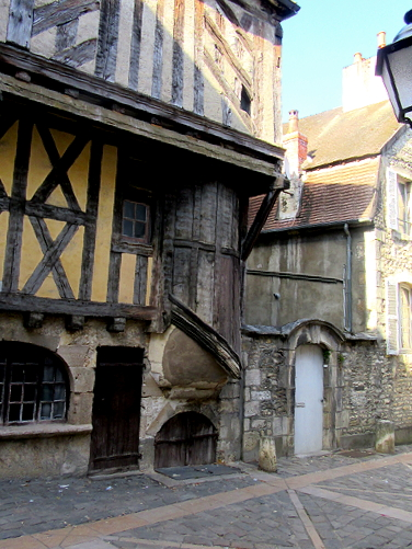 One of many Clamecy houses
