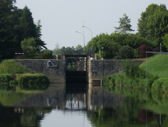 Coming up to Ter lock