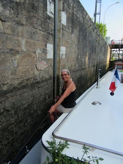 Jenny on the ropes
