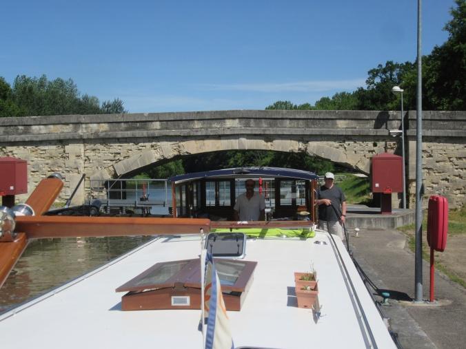Bridge, Pont and lock de Raveuse