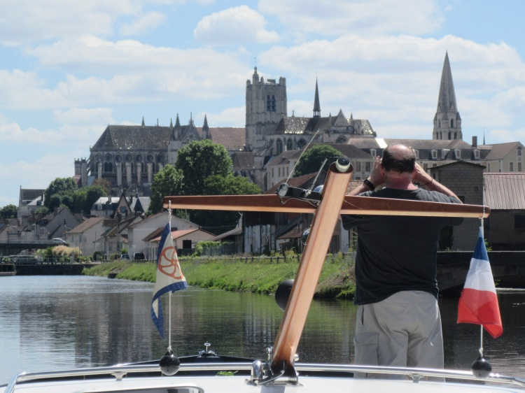 Auxerre, Bill's first view