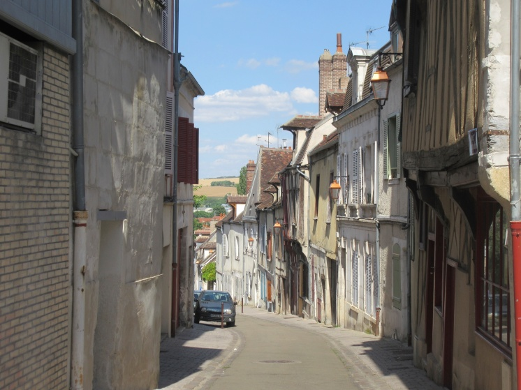 Auxerre town