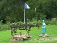 Lock 87Y sculptures