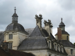 Tanlay chateau roof detail