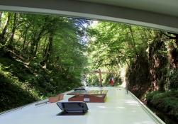 Breuilles tunnel approach