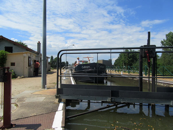 VAnneaux, after, Besbere lock
