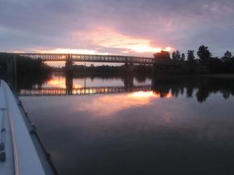 Belleville dawn