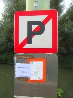 No mooring here - tomorrow!