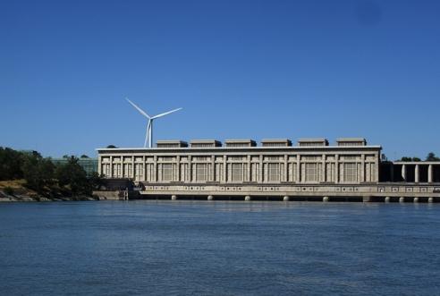 Donzere-Mondragon hydroelectric dam