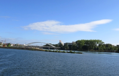 The confluence of Saone and Rhone