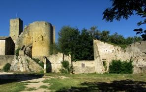 Roquemaure castle