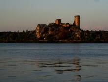 """Chateau de l""""Hers , evening"""