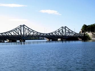 Last 2 bridges on La Saone