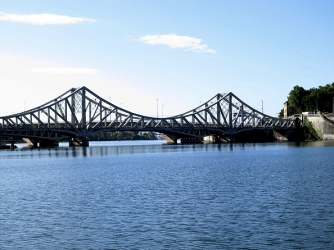 Last 2 bridges on La Saone