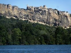 Mornas fortress, closer up