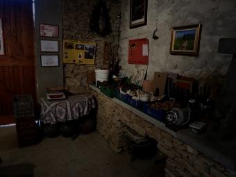 The cool dim barn