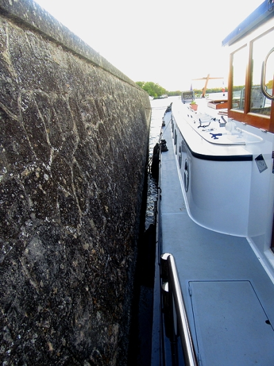 Securely moored