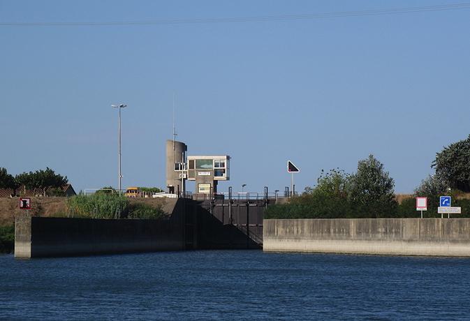 St Gilles lock