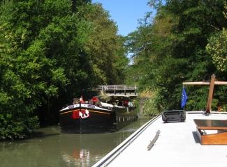 Narrow bridge at Cale