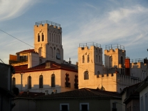 Frontignan skyline