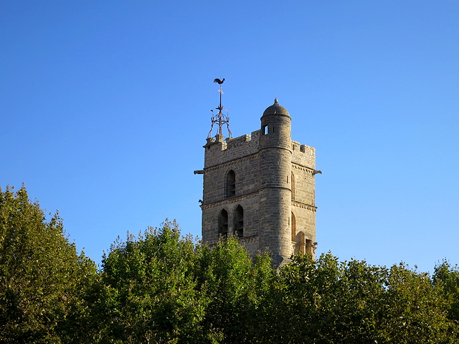 Frontignan church