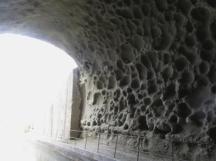 The blasted interior