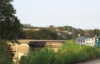 Nearing Pont canal de Bezier