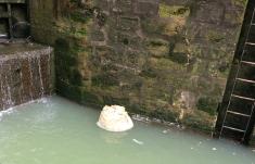 Foam 'iceberg'