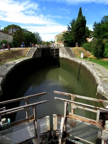 Middle lock, empty