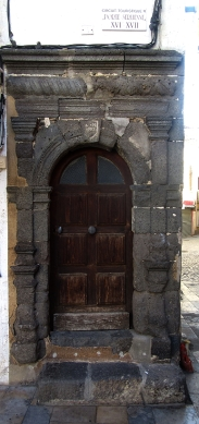 Old door in Vias