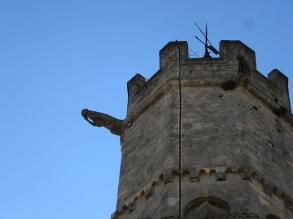 gargoyle on the church