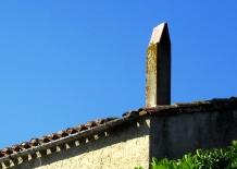 Villesequelande chimney