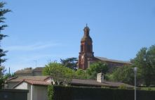 The church from below