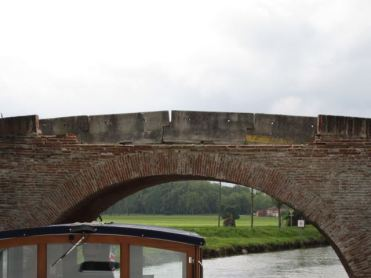 Damaged Pont de Deyme