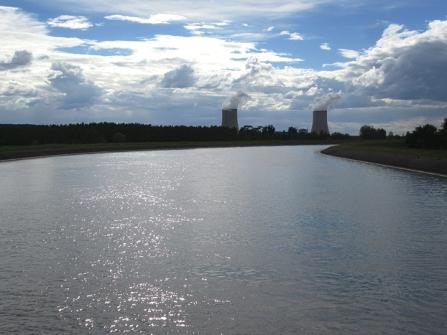 CAnal centrale de nucléaire
